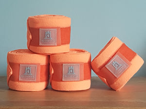 Fleece bandages - Orange