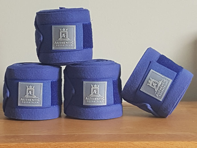 Fleece bandages - Blue