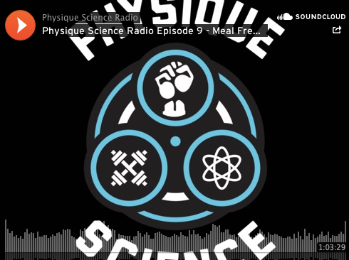 Physique Science Radio Episode 9: Meal Frequency
