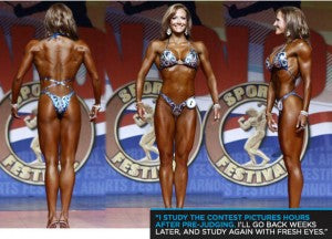 My favorite figure competitor, IFBB pro Erin Stern
