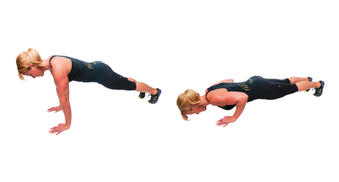 Bodyweight pushup