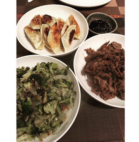What are the macros of this amazing Korean meal? Not sure, but let's not talk about that tonight.
