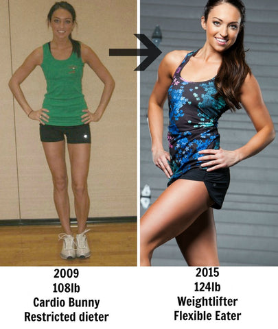 A much happier and healthier Stephanie!