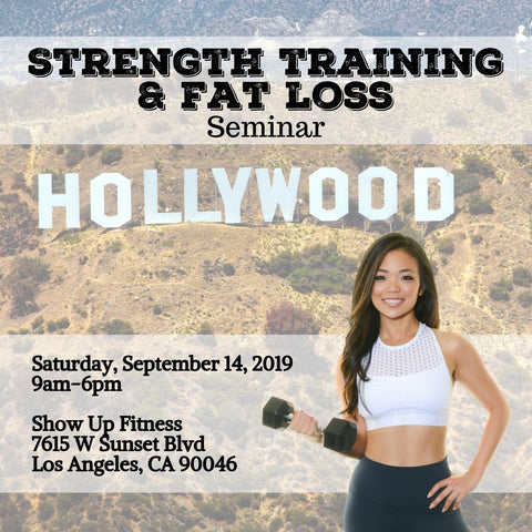 Strength Training and Nutrition Seminar - Los Angeles