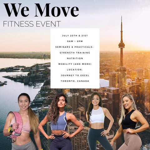 We Move Fitness Event - Toronto