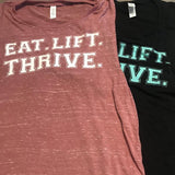 eat.lift.thrive muscle tank