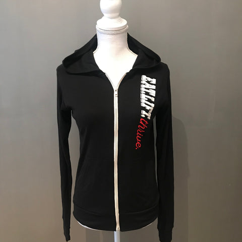 Black eat.lift.thrive Hoodie