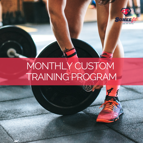Monthly Custom Training Program