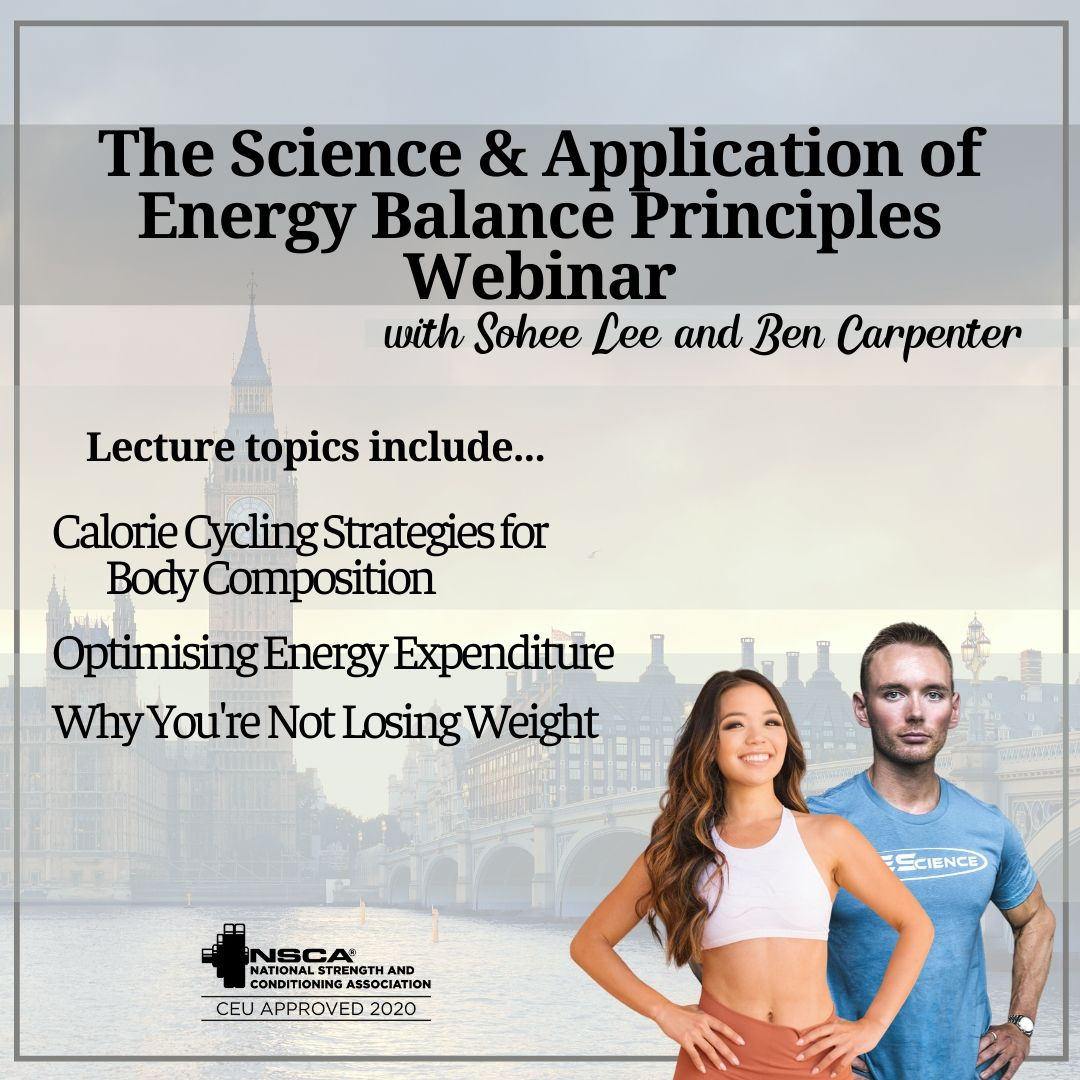 The Science & Application of Energy Balance Webinar