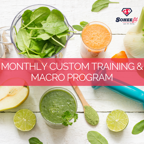 Monthly Custom Training & Macro Program