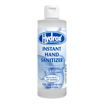 Hydrox Instant Hand Sanitizer with Aloe 4 oz.