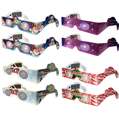 Holiday 3D Glasses - 8/Pack