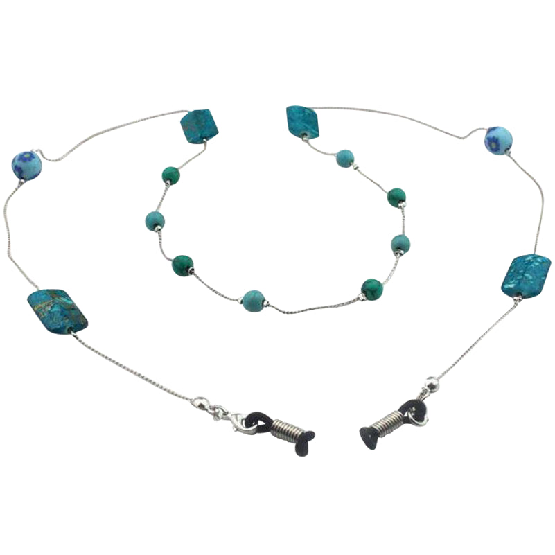 Turquoise Eyeglasses Chain