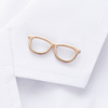 Glasses Lapel Pin