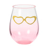 Our new stemless wine glasses are the perfect glasses for the optometrist,ophthalmologist, or optician with a heart of gold who loves eyewear!