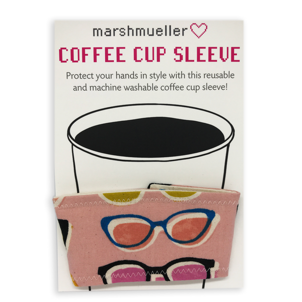 Coffee Cup Sleeve - Poolside Pink