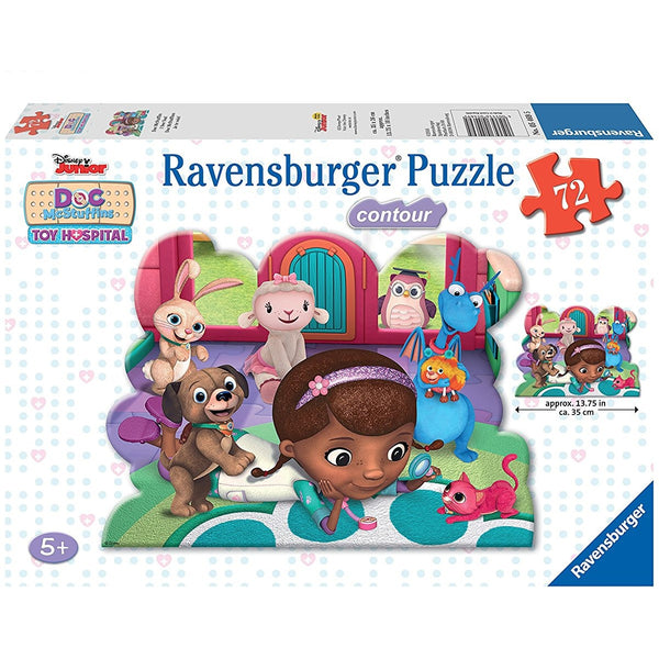Doc McStuffins: I See You! Shaped Puzzle