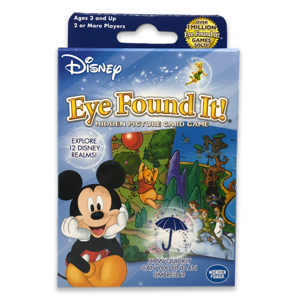 Disney Eye Found It! Hidden Picture Card Game