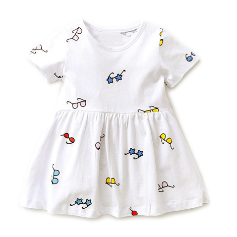 Kids Dress with Glasses - makes a great gift for the child of an optometrist, ophthalmologist or an optician.