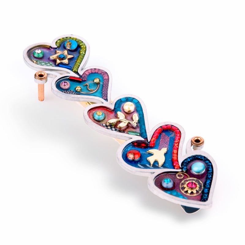 Hearts Mezuzah by Seeka