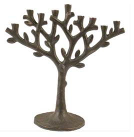 Oxidized Tree of Life Menorah by Michael Aram