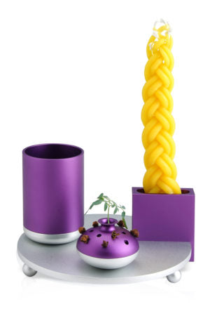Havdalah Set Purple