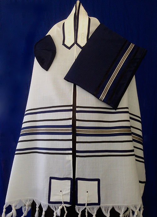 Traditional Tallit Set by Michelle Judaica