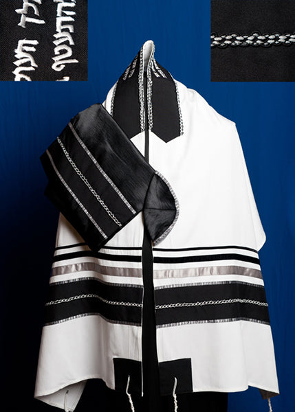 Men's Traditional Tallit Set by Michelle Judaica