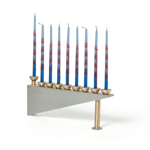 Geometric Menorah by Joy Stember