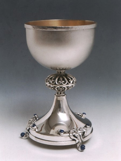 Kiddush Cup Sterling Silver 023 by Dabbah