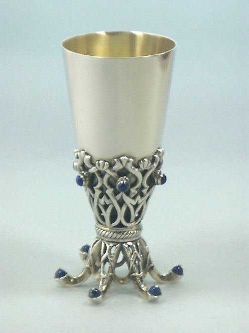 Kiddush Cup Sterling Silver 025 by Dabbah