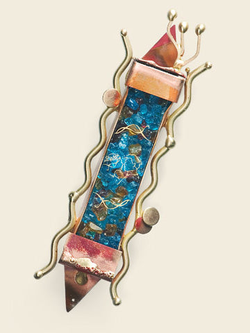 Mezuzah - Wedding Bride & Groom - WM2 by Gary Rosenthal