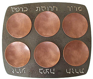 Passover Seder Plate | Blackthorne Forge | Iron and Copper
