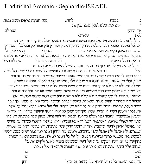 There's A Place For Us Ketubah by Nava Shoham