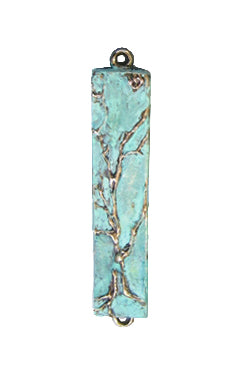 Mezuzah Tree of Life Patina Small by Ruth Shapiro