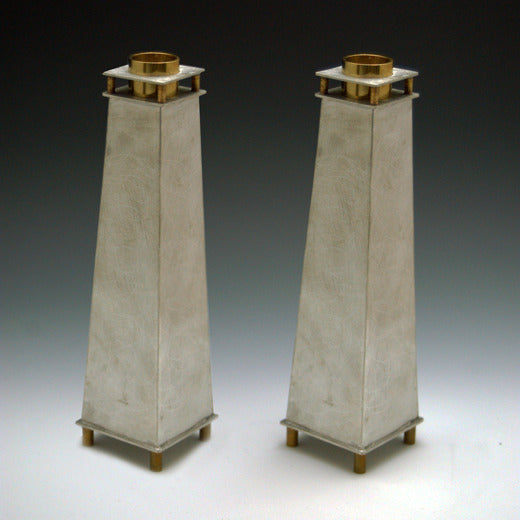 Tall Tapered Candle Holders by Joy Stember