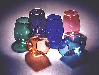 Assorted Wedding Glasses by Shardz