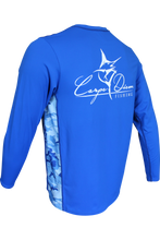 Blue Marlin Performance Vented Royal - Carpe Diem Fishing Apparel