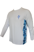 Blue Marlin Performance Vented White - Carpe Diem Fishing Apparel