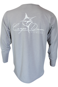 Men's Classic Performance Light Grey - Carpe Diem Fishing Apparel