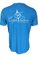 Men's Classic Performance Short Sleeve Royal - Carpe Diem Fishing Apparel