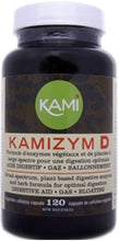 Kamizym D - 120 capsules - Enzymes digestives