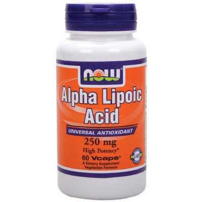 Now Alpha Lipoic Antioxidant Supplements