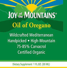 Joy of the Mountains Oil of Oregano - Huile d' origan sauvage