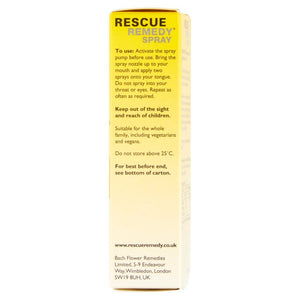 Bach Original Flower Remedies - Rescue Remedy Spray