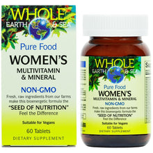 Whole Earth & Sea women's / 60 tablets