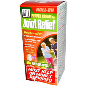 BELL - Pepper Cream for Joint Relief - 3oz