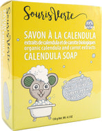 Souris Verte 942 Natural Organic Baby Soap Bar, 130g