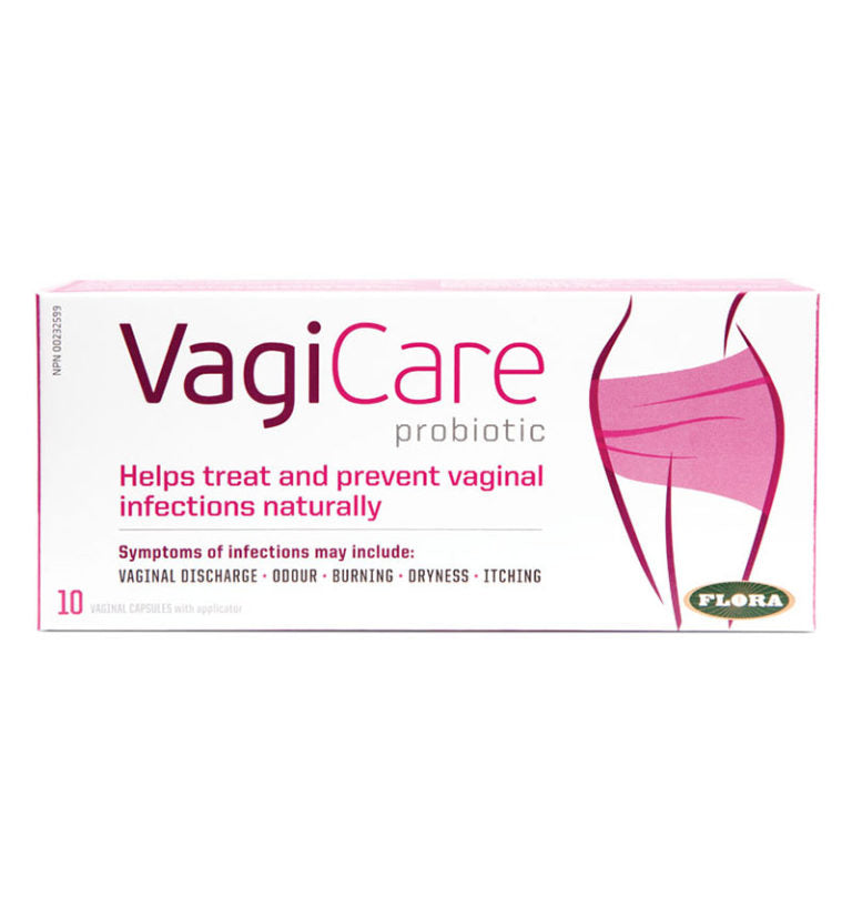 VagiFlore / VagiCare - Traitement des Infections Vaginales - 10 Ovules