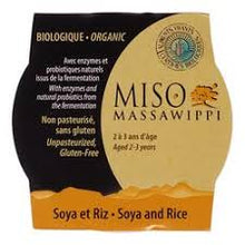 Miso Biologique 200g - Massawippi diverses options
